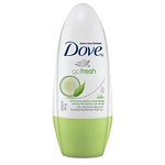 DESODORANTE DOVE PEPINO Y TE VERDE ROLL ON X 50 ML.