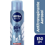 DESODORANTE NIVEA MEN SILVER PROTECT POLAR BLUE X 150 ML.