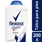 TALCO REXONA EFFICIENT X 200 GR.