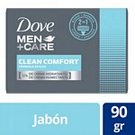 JABON DE TOCADOR DOVE MEN CARE CLEAN COMFORT X 90 GR.