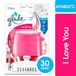 CANASTA GLADE LIQUIDA PARA INODORO I LOVE YOU FULL X 50 ML.
