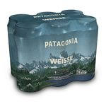 CERVEZA PATAGONIA WEISSE X 473 CC. PACK X 6 UNIDADES