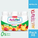 ACTIMEL BEBIBLE 0% MULTIFRUTA PACK X 600 GR.