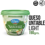 QUESO UNTABLE TREGAR NEUFCHATEL LIGHT X 190 GR.