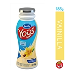 YOGUR SANCOR YOGS BEBIBLE ENTERO VAINILLA BOTELLA X 185 GR.
