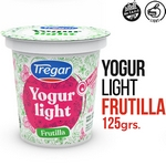 YOGUR BATIDO TREGAR LIGHT FRUTILLA X 125 GR.