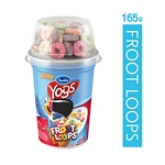 YOGUR SANCOR YOGS NATURAL ENTERO CON FROOT LOOPS KELLOGGS X 165 GR.