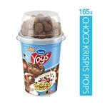 YOGUR SANCOR YOGS NATURAL ENTERO CON CHOCO KRISPIS KELLOGGS X 165G GR.