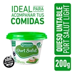 QUESO LA SERENISIMA UNTABLE PORT SALUT LIGHT CON VITAMINA A Y D POTE X 200 GR.