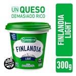 QUESO UNTABLE LA SERENISIMA FINLANDIA CON VITAMINA A Y D LIGHT X 300 GR.