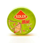 QUESO ADLER FONTINA LIGHT MINI RUEDA X 120 GR.
