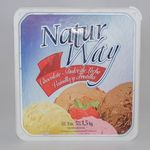 HELADO ICE CREAM NATUR WAY BALDE X 3 LT.