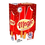 HELADO PALITO ICE CREAM MAGIC CHANTILLY CUBIERTO CON HELADO AL AGUA FRUTILLA X 75 GR. FLOW PACK X 6 UN.