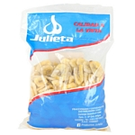 BANANA CHIPS JULIETA FLOW PACK X 500 GR.
