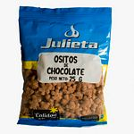 CEREALES OSITOS JULIETA CHOCOLATE X 25 GR.
