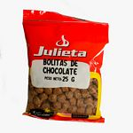BOLITAS DE CHOCOLATE JULIETA X 25 GR.