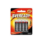 PILA EVEREADY AA STEEL X 4 UN. - ART. 922344 1215