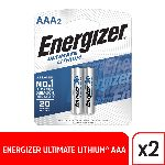 PILA AAA ENERGIZER LITIO X 2 UN. - ART. 925601 L92 BP2/E2