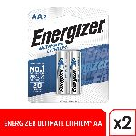 PILA AA ENERGIZER LITIO X 2 UN. - ART.925600 L91 BP2/BW