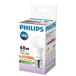 LAMPARA PHILIPS LED BULB ESSENTIAL 7 W. = 50 W. 3.000 K. 8.000 H. CALIDA X UN. - ART. 929001204471