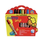 LAPIZ GIOTTO COLOR BEBE X 6 UN. - ART. 466400ES