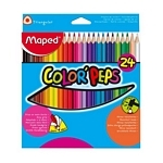 LAPIZ MAPED COLOR LARGOS X 24 UN. - ART. 183224