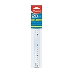 REGLA MAPED 20 CM CRISTAL ECO - ART 242510