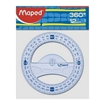 TRANSPORTADOR MAPED 12 CM. 360º GRAPHIC X UN. - ART. 242360