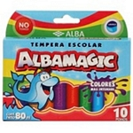 TEMPERA ALBA MAGIC SURTIDO X 10 UN. - ART. 83029999080