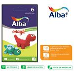 PLASTILINA ALBA COLOR X 6 UN. - ART. 8775997806