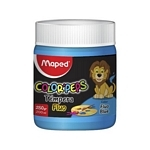 TEMPERA MAPED 200 GR. AZUL FLUOR X UN. - ART. 826579