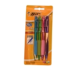 BOLIGRAFO BIC RETRACTIL GRIP FASHION X 4 UN. - ART. 908668