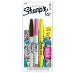 MARCADOR SHARPIE MINI SURTIDO FASHION X 3 UN - ART 1812806