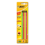 LAPIZ BIC NEON EVOLUTION X 4 UN. - ART. 942006