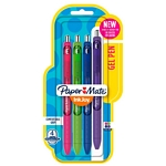 BOLIGRAFO PAPER MATE GEL INKJOY RETRACTIL FUN COLOR X 4 UN. - ART. 1997109