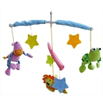 MOVIL MUSICAL BIBA TOYS ANIMAL SELVA X UN. - ART. DI2252