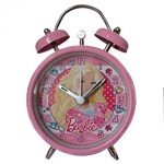 RELOJ DESPERTADOR BARBIE X UN.-ART.BB772