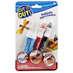 JUEGO CREAR CUT IT OUT CONJ 2 MARCADORES X UN.-ART.301348