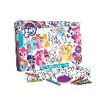 JUEGO INFANTIL MY LITTLE PONY COLOREAR Y BORRAR X UN. - ART. HLP09300