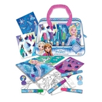 CARTERITA DE ACTIVIDADES FROZEN CON MARCADOR SELLO STICKER Y BLOCK X UN. - ART. DFZ07847