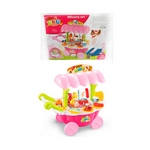 CARRITO BARBECUE PARTY CART COLORES PASTELES   X UN-ART F8192
