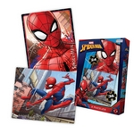 PUZZLE SPIDERMAN 24 Y 36 PIEZAS X 2 UN-ART VSP03232