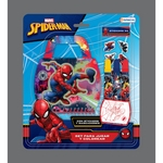SET SPIDERMAN PARA JUGAR Y COLOREAR X UN - ART VSP03265.-