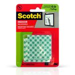 CUADRITOS SCOTCH DE MONTAJE PARA INTERIORES HASTA 1.8KG X16UN-ART 347