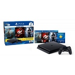 CONSOLA PLAYSTATION 4 SLIM 1TB + HIT 3 (GOW4 + GRAN TURISMO + UNCHARTED 4)