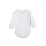 BODY BEBE NARANJO 1120 M/L INTERLOCK BLANCO 5/6I19*C