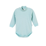 BODY BEBE NARANJO 1225 MEDIA POLERA INTERLOCK CLARO 0/4 I19*C