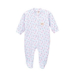 ENTERITO BEBE NENA NARANJO 4131 PLUSH ESTAMPADO MINI RN/12M I20