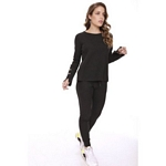 BUZO MUJER ANT 910-0009 MICROPANAL C/BOTONES S/XL I20