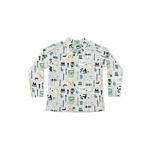 MEDIA POLERA BEBE VARON MISSION 2151 INTERLOCK ESTAMPADA T2-XL I20